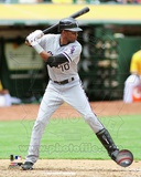 Alexei Ramirez 2012 Action Photo