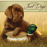 Just Dogs - John Silver - 2013 Linen Calendar Calendars