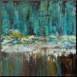 Tiefes Wasser I Aufgezogener Druck von Jack Roth