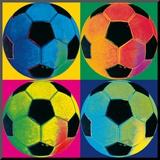 Quatro Bolas: Futebol Impressão montada