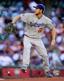 Clayton Kershaw 2012 Action Photo