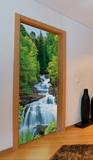 Wasserfall Fototapete Türposter Wandgemälde