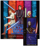Star Wars: The Clone Wars - 2013 Calendar Calendars