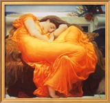 Flaming June, c.1895 Prints by Frederick Leighton