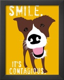 Smile Poster by Ginger Oliphant
