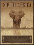 Sydafrika Monteret tryk af Ben James