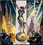 Världsutställningen i Chicago, 1933 Monterat tryck av Glen C. Sheffer