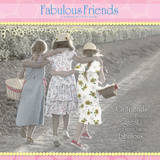 Gail Goodwin - Fabulous Friends - 2013 Linen Calendar Calendars