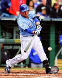 Billy Butler 2012 Action Photo