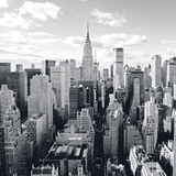Skyline Of Manhattan Print