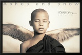 Winged Monk, Mexico City Prints by Gregory Colbert