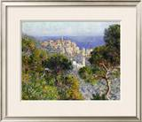 Monet: Bordighera, 1884 Framed Giclee Print by Claude Monet