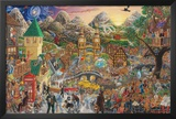 A Magical Mystery Tour (of 100 Beatles Songs) Prints