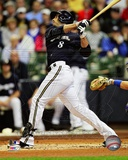 Ryan Braun 2012 Action Photo