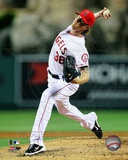 Jered Weaver 2012 Action Photo
