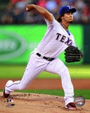 Yu Darvish 2012 Action Photo