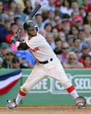 Dustin Pedroia 2012 Action Photographie