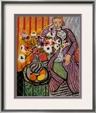 Purple Robe Prints by Henri Matisse