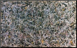 Pollock: Number 1 Mounted Print by Jackson Pollock