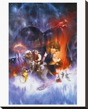 Star Wars-Empire Strikes Back Leinwand