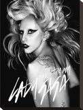 Lady Gaga-Born This Way Trykk på strukket lerret