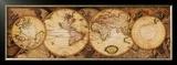 Map of the World: Nova Totius Terrarum Orbis Posters