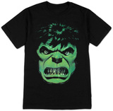 The Incredible Hulk - Angry Face T-shirts