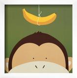 Peek-a-Boo X, Monkey Posters by Yuko Lau