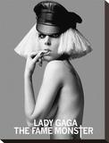 Lady Gaga-Free Bitch Leinwand