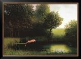 Kohler's Pig Print by Michael Sowa