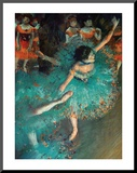 Dancer Mounted Print by Edgar Degas