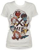 Juniors: Xmen - Portraits T-shirts