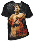 Texas Chainsaw Massacre - Full Color Chainsaw Tshirts