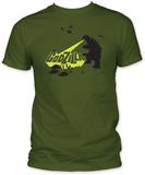 Godzilla - Army Men T-Shirt