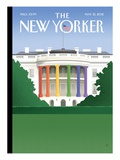 The New Yorker Cover - May 21, 2012 Regular Giclee Print by Bob Staake