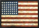 Bandera, 1954 Posters por Jasper Johns