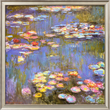 Nenúfares, 1916 Póster por Claude Monet
