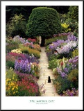 The Garden Cat Mounted Print by Greg Gawlowski