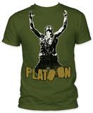 Platoon - Platoon Sgt. Elias T-shirts