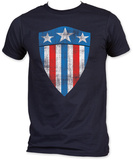 Captain America - First Shield Tシャツ