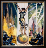 Chicago World's Fair, 1933 Posters by Glen C. Sheffer