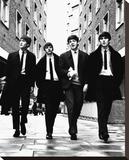 Beatles-In London Reproduction transférée sur toile