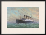Titanic Posters by Edward Walker