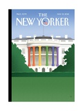 The New Yorker Cover - May 21, 2012 Reproduction procédé giclée par Bob Staake