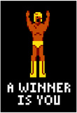 A Winner Is You Video Game Poster Pósters