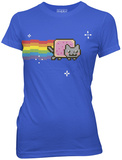 Juniors: Nyan Cat - Original T-Shirt