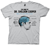 The Big Bang Theory - Mind of Dr. Cooper Shirts