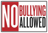 No Bullying Allowed Classroom Poster Masterprint