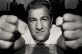Rocky Marciano Fists Archival Photo Sports Poster Print Masterprint