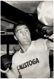 Rocky Marciano Training Archival Photo Sports Poster Print Poster
